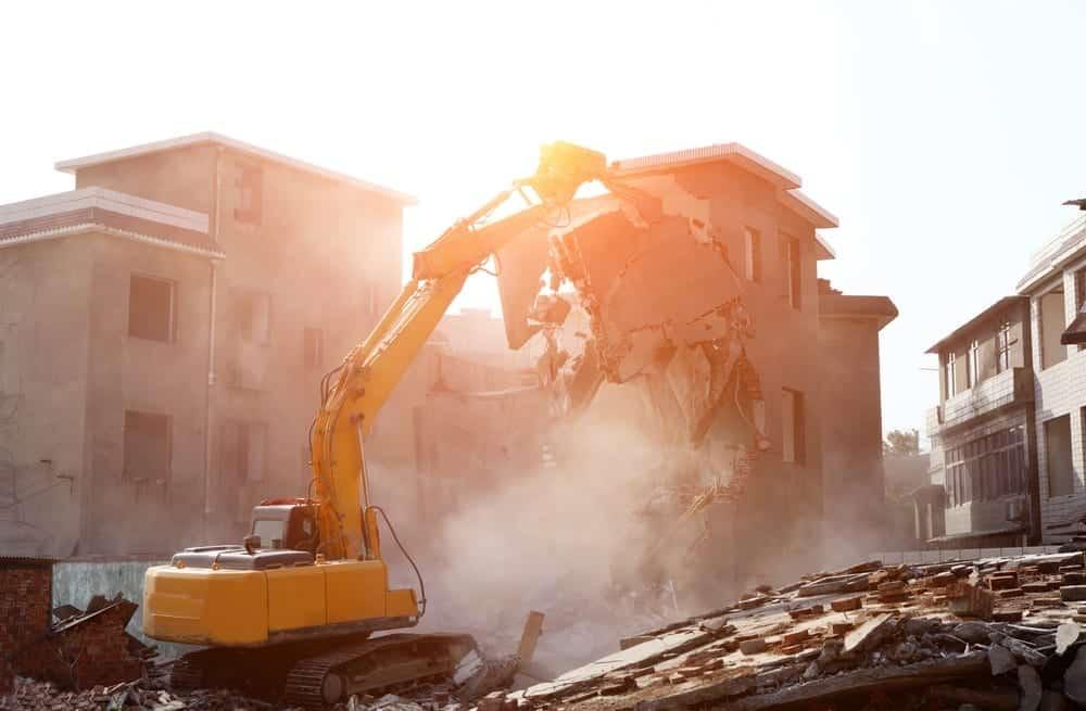 partial house demolition newcastle