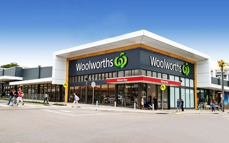 Nelson bay Woolworths
